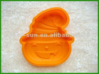2012 The novel design and hot selling non-stick silicone ice tray made in Dongguan