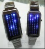 LED Digital Watch with 44 Blue LED Lights (G/L1002 )