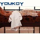 plain dyed bamboo fiber face towel gift