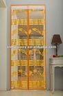 decorative bug-off hands-free magnetic screen door