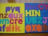 colorful magnetic letters,EVA magnetic letters