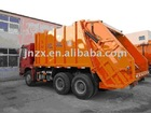 22m3 capacity, HOWO 6*4compressed garbage truck