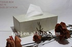 leather tissue boxes