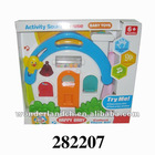Promotion Plastic high quality Music house with light baby music toy toys
