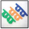 toe separators in different colors EVA material