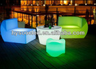 KTV led sofa/entertainment sofa lights/disco sofa lounge