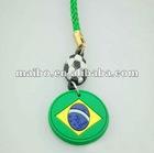 football mobile phone strap phone strap