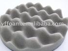 Circle Wavy Acoustic Foam