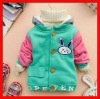 2012 Top Sale Lovely Rabbit Child Outdoor Winter Clothes