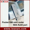 Portable sim card router with RJ45 Wan/lan port