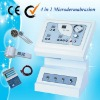 4 in 1 Diamond Microdermabrasion + Photon + cold hot hammer machine Au-703A