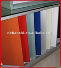 wall decoration panel with PE or PVDFcoated