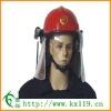 Red Fire Commander Helmet Flame Retardant