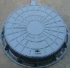 Locking hinged electricity cast iron manhole covers