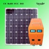80W solar lighting system for home use