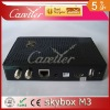 Free shipping Original 2pcs Skybox M3 Update From Skybox OPENBOX S12 1080p Full HD Support DVB Satellite Receiver by Alibaba