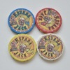 Casino Chips Ceramic Poker Chips custom design acceptable