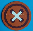 Promotional coasters pvc/OEM/small order is acceptable