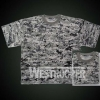 MILITARY COMBAT Army T Shirt In Digit Gray Wtp60-1102