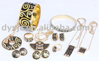 2012 New Fashion Copper/Brass Jewelry Sets (F1)