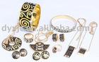 2012 New Fashion Copper/Brass Jewelry Sets (F1)
