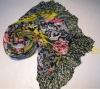 2012 hot salel tribal floral animal print scarf