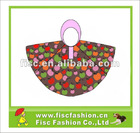 KRP033 Kids Lovely Colorful Printing Rain Poncho
