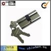 Double open door lock cylinder