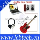 USB Guitar adapter cable For PC/Mac Recording, Wholesale