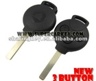 Best quality Smart 3 Button Remote Key Case Wholesale