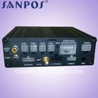 4 channel H.264 Bus DVR with GPS function,2 SD-Card Recorder SP-4000A