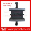 Excavator engine support parts for ZX230, Excavator rubber cushion 4410043 4410044