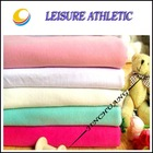 100% combed cotton solid dye single jersey knitted fabric for polo shirt