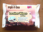 wet Leather wipes