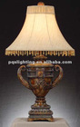 Hotel Lamp Imitation of Rosewood