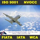 Air shipping services from Europe to China