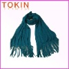 acrylic scarf ,fashion scarf, tassel scarf