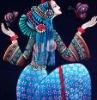 Batik Silk Scarf