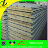 Fireproof rock wool sandwich panel for sale
