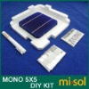 MONO 5X5 DIY KIT for solar panel: 40pcs MONO 5X5, Flux Pen, Tabbing Bus wire.