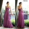 FB0536 Hotsale Sweetheart Chiffon Bridesmaid Dress