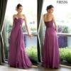 FB0536 Hotsale Sweetheart Chiffon Bridesmaid Dress