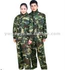 Unisex waterproof camouflage rain coat(SH-A3188)