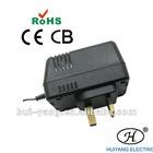 ce,cb,rohs,wall type ,22V-400mA, uk plug,ac/dc adapter