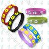 silicone gift power bracelet
