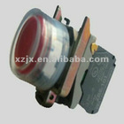 ip66 waterproof pushbutton switch XB4-BP21,spring return