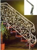The Luxury stairs grill design of wrought iron