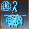 clip hanger ,plastic clothes hanger clips 24 pcs