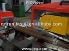 qingdao wpc wood plastic composite profile production machinery