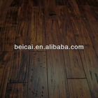 BC007 Black Walnut Color Solid Acacia Prefinished Wood Floor